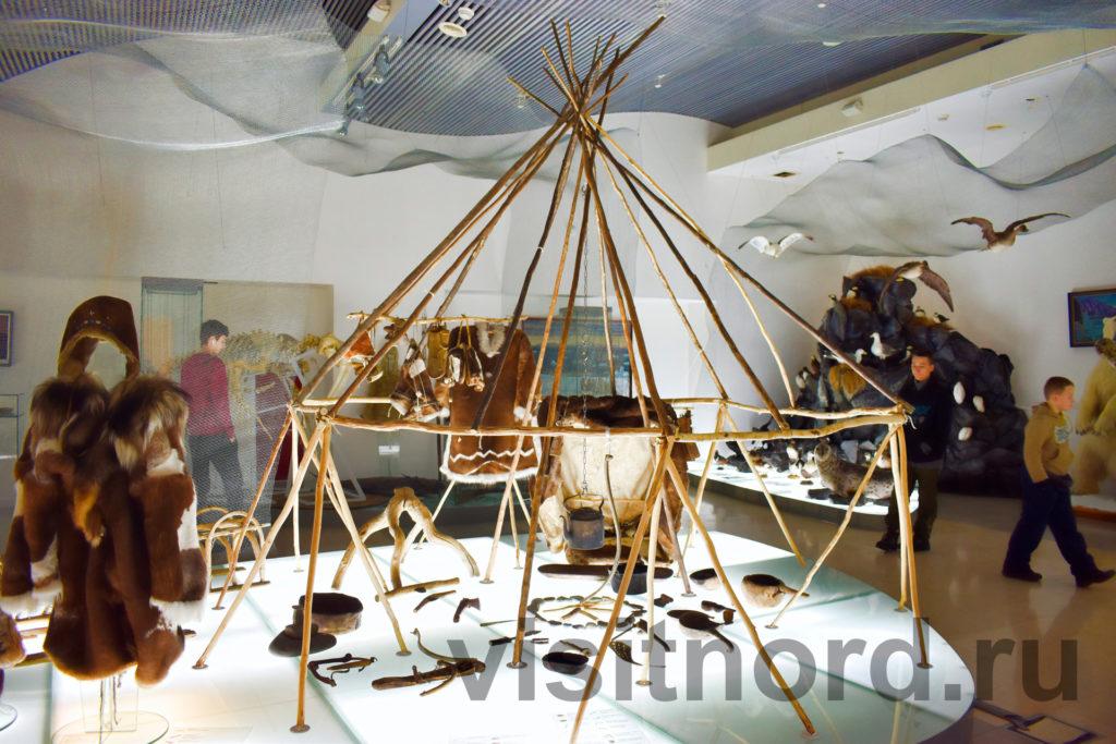 яранга в музее