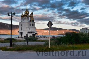 Церковь в Эгвекиноте
