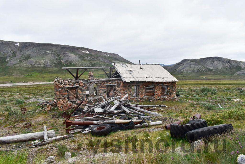 Руины зданий