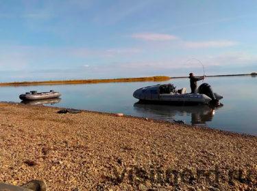 Рыбалка на спиннинг на реке Великая