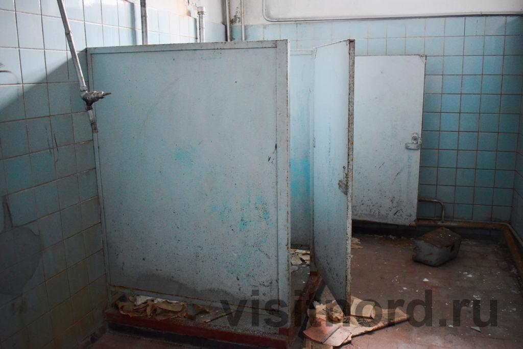 Туалет в ДК