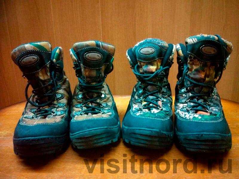 Ботинки для трекинга