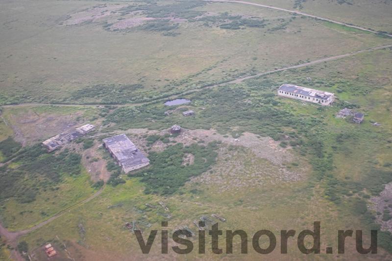 Руины бывших военных городков