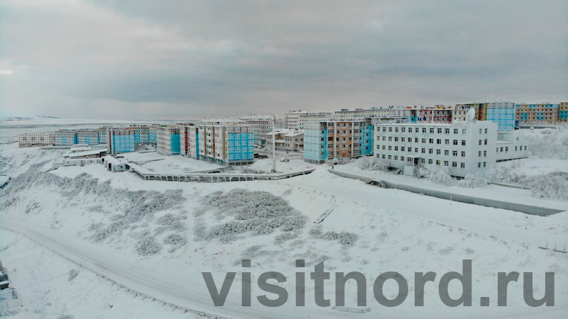 Зимний Анадырь