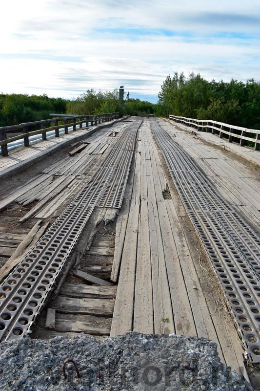 Мост в Марково