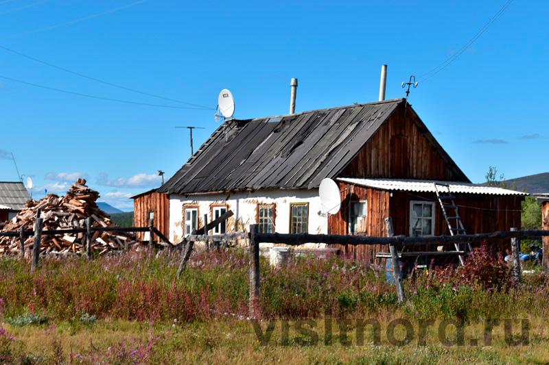 Дом в Ламутском