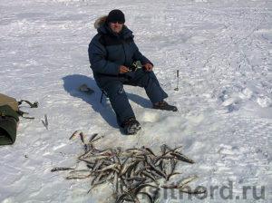На рыбалке корюшки