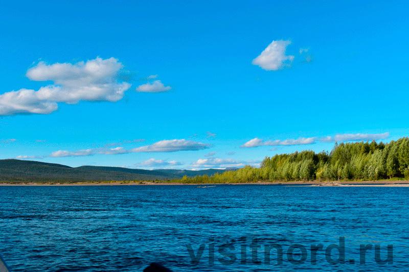 По реке Анадырь
