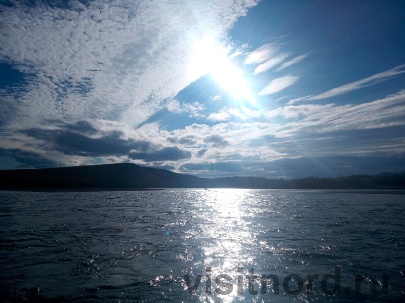 Пейзаж Пейзаж на реке Анадырь реке Анадырь
