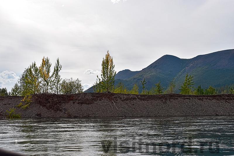 Красоты в верховьях реки Анадырь