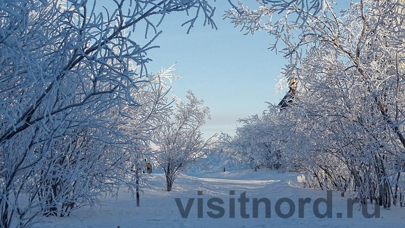 Зима в Анадыре