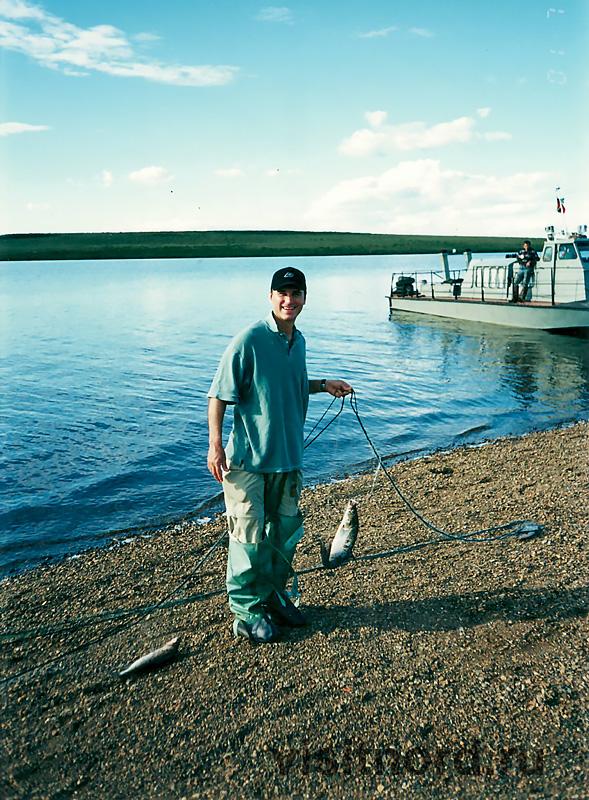 На рыбалке в Канчалане