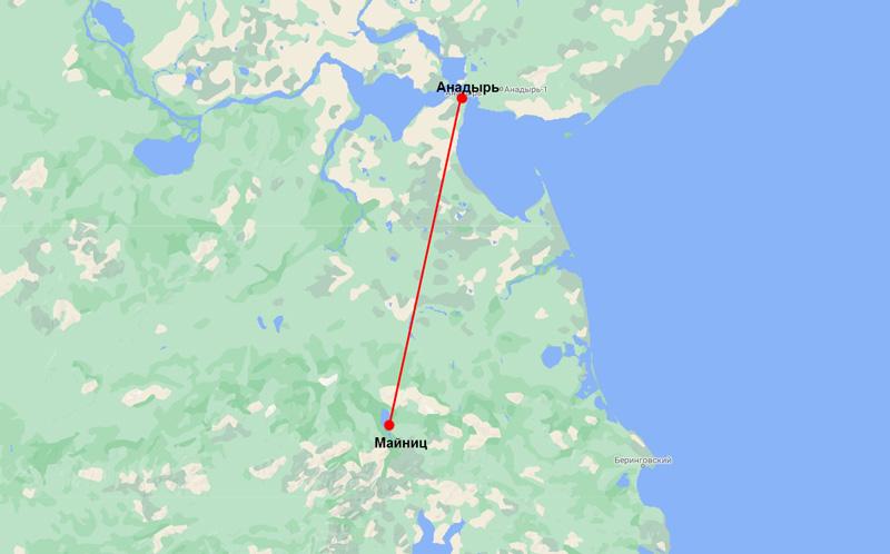 карта Майниц