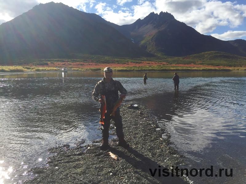 Рыбалка на озере Майниц