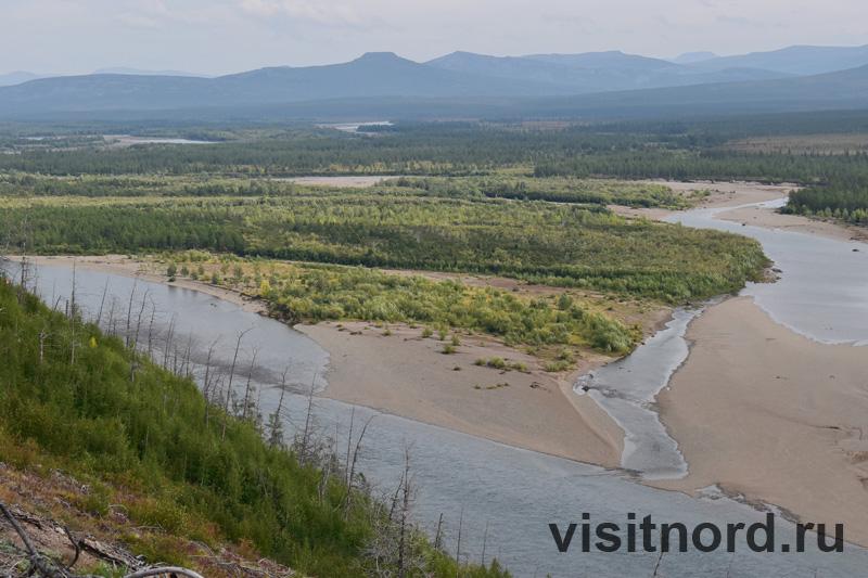 В верховьях реки Анадырь