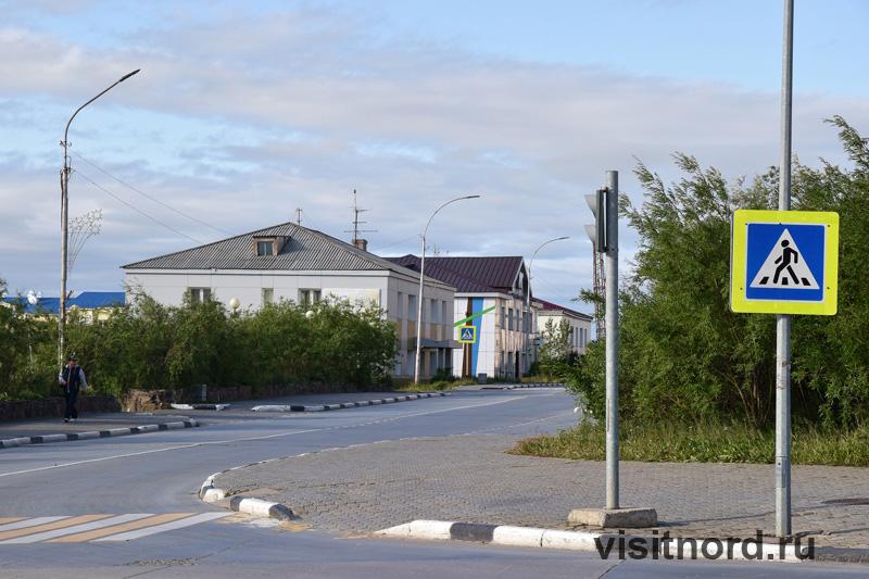 Дороги в Анадыре