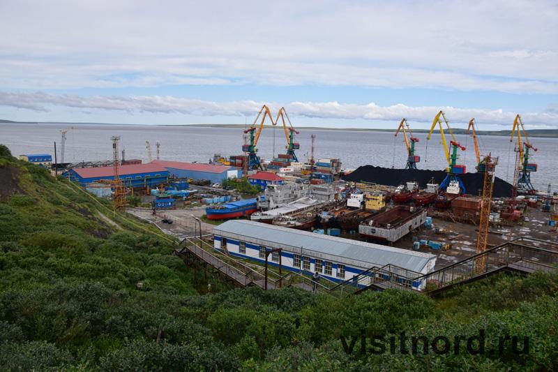 Главный порт Анадыря