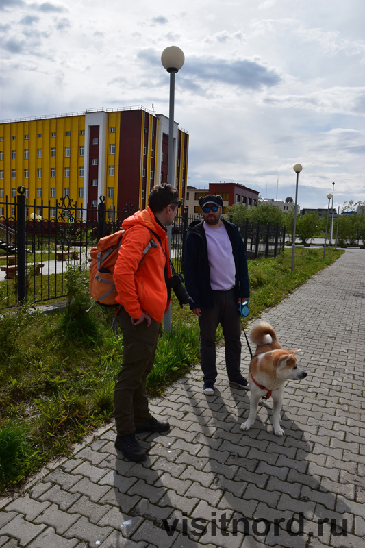 Прогулка по Анадырю