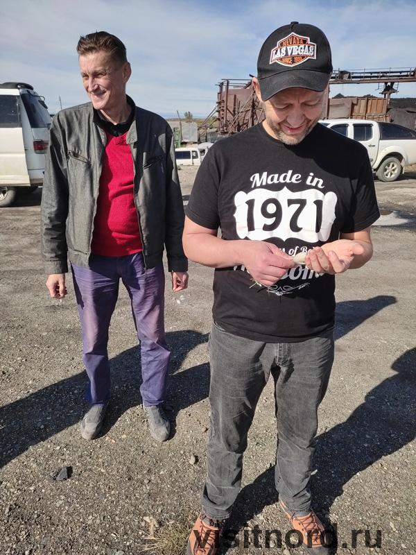 Дмитрий и Сергей на восьмом причале