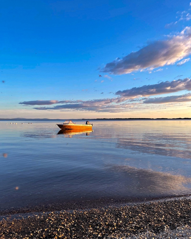 Лодка в Краснено