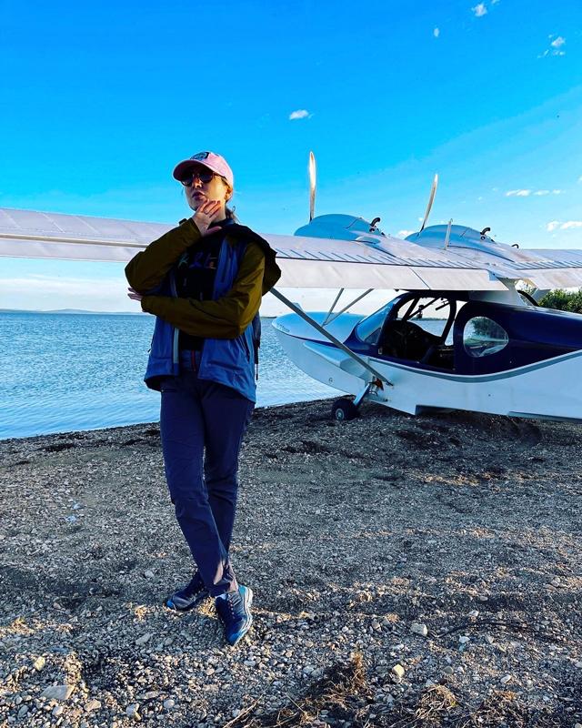Самолет в Краснено