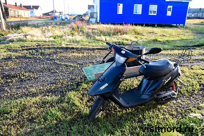 Мотоцикл в Краснено Чукотка