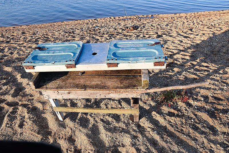 Разделочный стол для рыбы