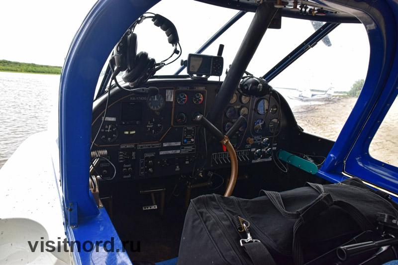 Приборная панель самолета Орион СК-12