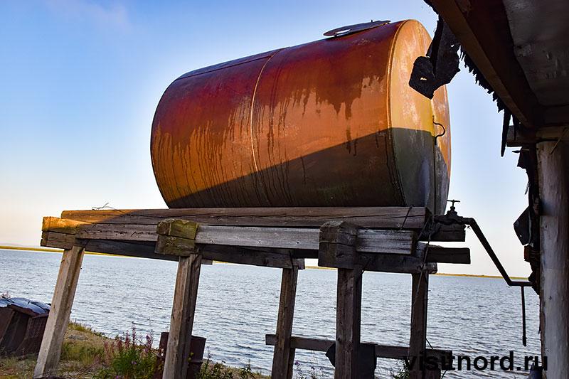 Заброшенный рыбный цех Чукотка